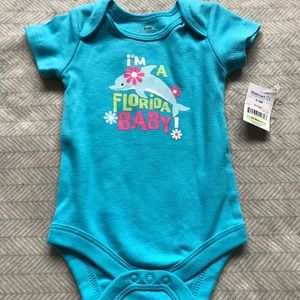 """Other - NWT """"I'm a Florida Baby"""" Onesie   0-3M"""